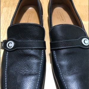 Coach Leann leather loafers 9.5